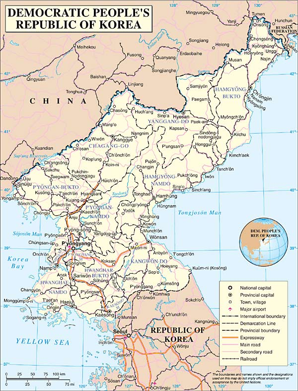 History of north korea chapter 1a map of north korea gumiabroncs Image collections